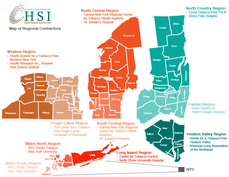 NYS Map of Regional Contractors 04 23 15